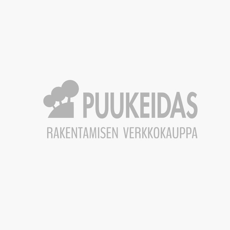 Jalkalista Johtouralla 20x70x3300 valkoinen